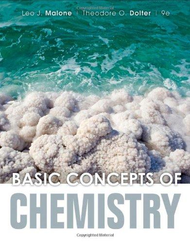 Solution Manual (Complete Download) for   Basic Concepts of Chemistry