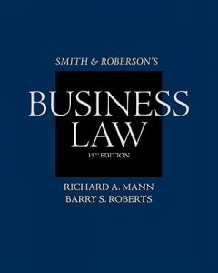 Solution Manual (Complete Download) for   Smith and Roberson's Business Law