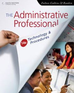 Solution Manual (Complete Download) for   The Administrative Professional: Technology & Procedures