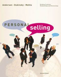 Solution Manual (Complete Download) for   Personal Selling: Building Customer Relationships and Partnerships