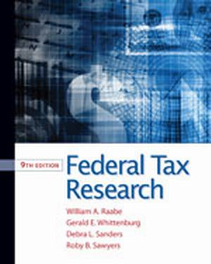 Solution Manual (Complete Download) for   Federal Tax Research