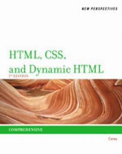 Solution Manual (Complete Download) for   New Perspectives on HTML