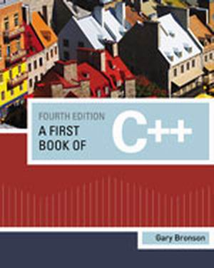 Solution Manual (Complete Download) for   A First Book of C++