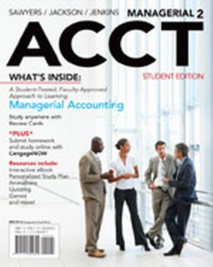 Solution Manual (Complete Download) for   Managerial ACCT2