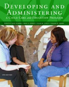 Solution Manual (Complete Download) for   Developing and Administering a Child Care and Education Program