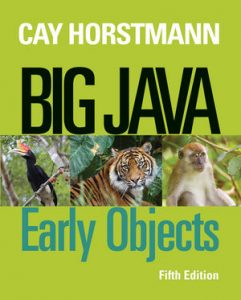Solution Manual (Complete Download) for   Big Java: Early Objects