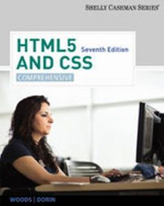 Solution Manual (Complete Download) for   HTML5 and CSS: Comprehensive