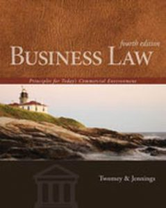 Solution Manual (Complete Download) for   Business Law: Principles for Today's Commercial Environment