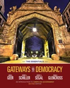 Solution Manual (Complete Download) for   Gateways to Democracy: An Introduction to American Government