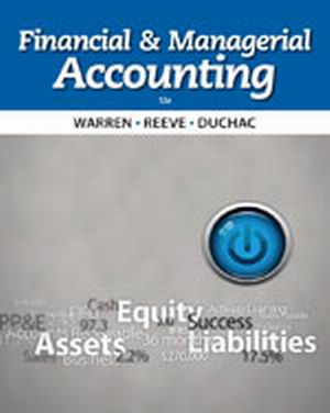 Solution Manual (Complete Download) for   Financial & Managerial Accounting