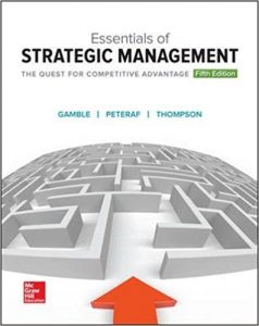 Solution Manual (Complete Download) for Essentials of Strategic Management: The Quest for Competitive Advantage