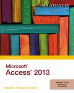 Solution Manual (Complete Download) for   New Perspectives on Microsoft'® Access 2013