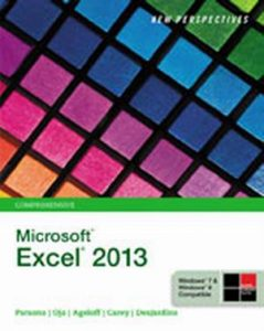 Solution Manual (Complete Download) for   New Perspectives on Microsoft'® Excel'® 2013