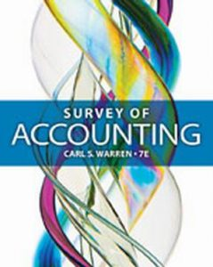 Solution Manual (Complete Download) for   Survey of Accounting