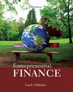 Solution Manual (Complete Download) for   Entrepreneurial Finance