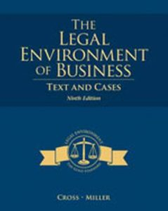 Solution Manual (Complete Download) for   The Legal Environment of Business: Text and Cases