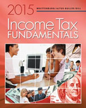 Solution Manual (Complete Download) for   Income Tax Fundamentals 2015