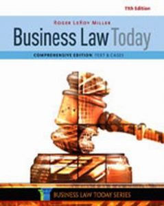 Solution Manual (Complete Download) for   Business Law Today