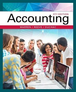 Solution Manual (Complete Download) forAccounting