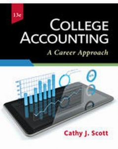 Solution Manual (Complete Download) for College Accounting: A Career Approach