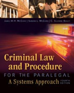Solution Manual (Complete Download) for   Criminal Law and Procedure for the Paralegal